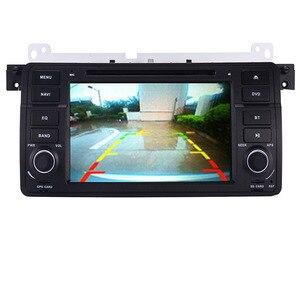 Image 3 - سعر المصنع 1 الدين مشغل أسطوانات للسيارة لاعب لسيارات BMW E46 M3 مع نظام تحديد المواقع بلوتوث راديو RDS USB عجلة القيادة في Canbus خريطة مجانية + كاميرا هيئة التصنيع العسكري