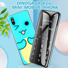 New I10 Ultra-thin Smallest Cute Card Cellphone Portable Student Quit Internet N