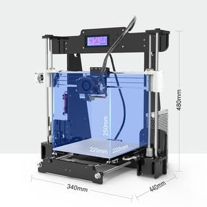 Image 2 - חדש Anet A8 שולחן העבודה DIY 3D מדפסת ערכת Impresora 3D עם מיקרו SD כרטיס USB חיבור