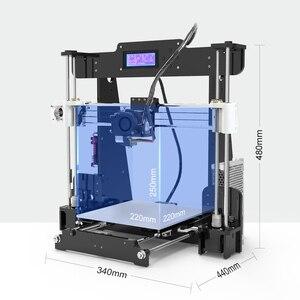 Image 2 - Nouvelle Anet A8 imprimante 3D, Kit dinstallation autonome impressora 3D, avec connexion USB pour carte Micro SD