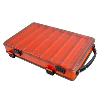 Fishing Box  compartments Fishing Accessories lure Hook Boxes storage Double Sided High Strength Fishing Tackle Box multi function automatic fishing gear lazy alarm fishing tackle hook double hook automatic fishing launcher