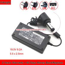 Oryginalne Delta 19 5V 9 2A ADP-180NB przed naszą erą ładowarka do laptopa dla MSI GT70 GT60 DOMINATOR GX70 GX60 MD98776 zasilania tanie tanio viknight Rohs CN (pochodzenie) 19 5 v Uniwersalny US EU UK AU Power Cord ( Free ) 100-240V~2 5A 50-60Hz 5 5 x 2 5mm