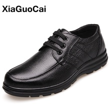 Spring Autumn Man Genuine Leather Casual Shoes Breathable Derby Shoes Male Flats With Fur Business British Footwear Classic 2020 spring autumn 2018 breathable thick platform man shoes genuine leather mens footwear white casual male shoes plus size us 6 9 5