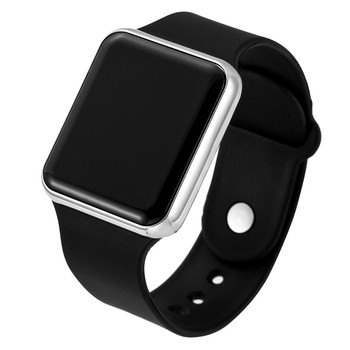 Men Sport Watch Square LED Student Women Digital Watch Electronic Clock Army Military Bracelet Silicone Wrist Watch Hodinky saat aidis brand girl boy watch women men student simple black white silicone strap watch outdoor luminous sport clock dames horloges