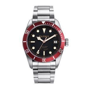 Image 1 - Parnis 41mm Watch Men Miyota Automatic Mechanical Movement Stainless Steel Luminous Luxury Brand Sapphire Crystal Wristwatch Men