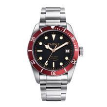 Parnis montre bracelet pour hommes, 41mm miotta, mouvement mécanique automatique, acier inoxydable, lumineux, marque de luxe, Sapphire Crystal