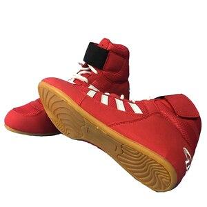 TaoBo-zapatos de lucha profesional de boxeo para hombre y mujer, zapatos para levantar pesas, zapatillas de deporte, Scarpe Boxe, Uomo, talla 30-44