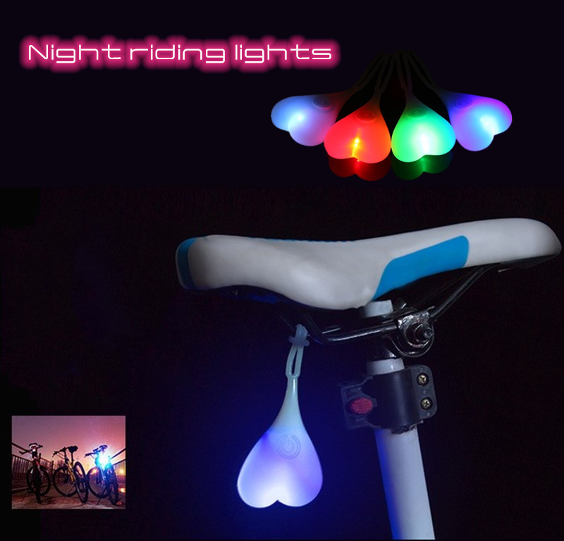 Bicycle Flashing Light Mountain Bike Night Riding Lighting Riding Equipment Bicycle Accessories Personality Safety Warning Light
