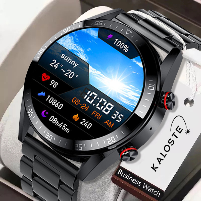 2021 New 454*454 Screen Smart Watch Always Display The Time Bluetooth Call...