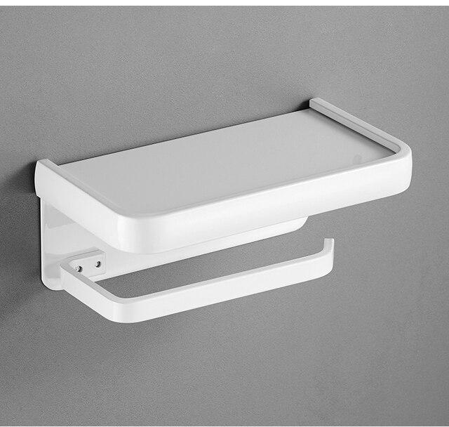 Dérouleur Papier Toilette Blanc