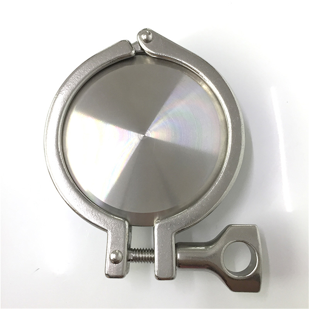 19MM-63mm OD Sanitary TriClamp Ferrule + End Cap + Tri Clamp + Silicon Gasket