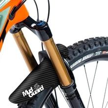 Guardabarros de rueda de neumático delantero/trasero fibra de carbono bicicleta de montaña bicicleta Ciclismo de Carretera piñón fijo guardabarros