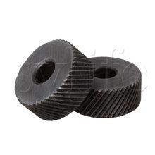 2 шт., диагональное колесо для накатки, 1 мм