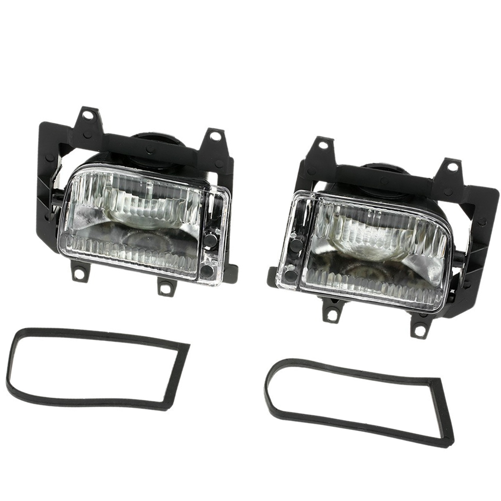 1 Pair Car Fog Lights Front Bumper Daytime Light For <font><b>BMW</b></font> <font><b>E30</b></font> <font><b>318i</b></font> 320 325i 1982-1994 63171385945 image