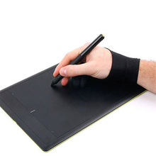 Painting gloves Anti-fouling Anti-sweat Anti-touch Screen art student two Finger gloves for drawing tablet ipad notebook