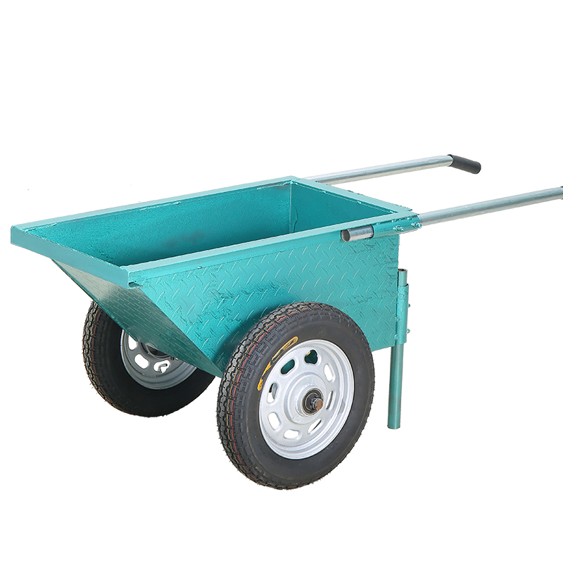 Transport Carrying Cart Thickened Labor Gray Bucket  Cement Car Household Car Indoor Car Narrow Door Construction Site Car Van