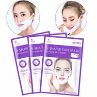 2PCS 4D Doppel V Gesicht Form Maske Lifting Straffende Gesicht Maske Abnehmen Beseitigen Ödeme Heben Straffende Dünne Masseter Gesicht hautpflege