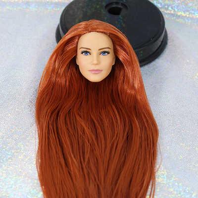 Original Limitedตุ๊กตาบาร์บี้หัวแฟชั่นสไตล์DIYของเล่นอุปกรณ์เสริมสำหรับตุ๊กตาของเล่นสำหรับเด็กBonecaไม่มีBODY