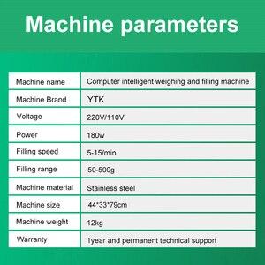 Image 5 - Ytk 500G Korrel Poeder Vulmachine Automatische Wegen Machine Mispel Verpakkingsmachine Voor Thee Bean Zaad Deeltje