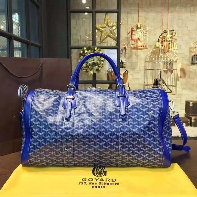 Fashion trend large capacity men and women the same portable diagonal bag, the same travel bag carry on luggage  gym bag 5