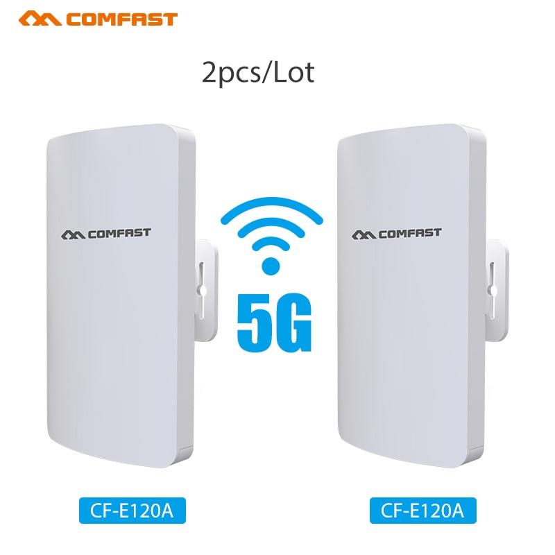 2 шт. Высокая мощность дальность 3 км Открытый CPE Wifi ретранслятор 5,8 ГГц 300 Мбит/с беспроводной Wi-Fi маршрутизатор AP антенна мост Nano станция AP