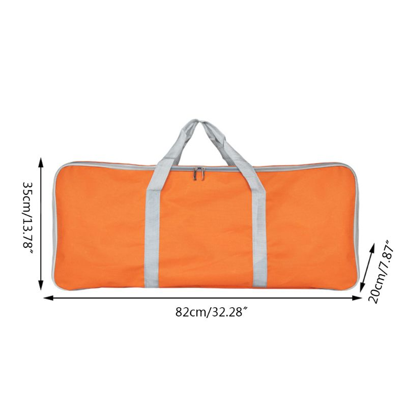 Barbecue Grill Accessories Tools Storage Bag Thicken Oxford Cloth Zippered Waterproof for Picnic Camping Outdoor BBQ in Covers from Home Garden