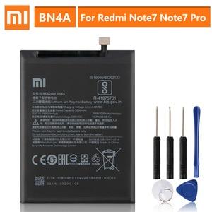 Image 1 - Original Replacement Battery For Xiaomi Redmi Note7 Note 7 Pro M1901F7C BN4A Genuine Phone Battery 4000mAh