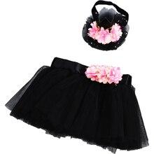 Комплект из юбки пачки и короны для маленьких девочек комплект