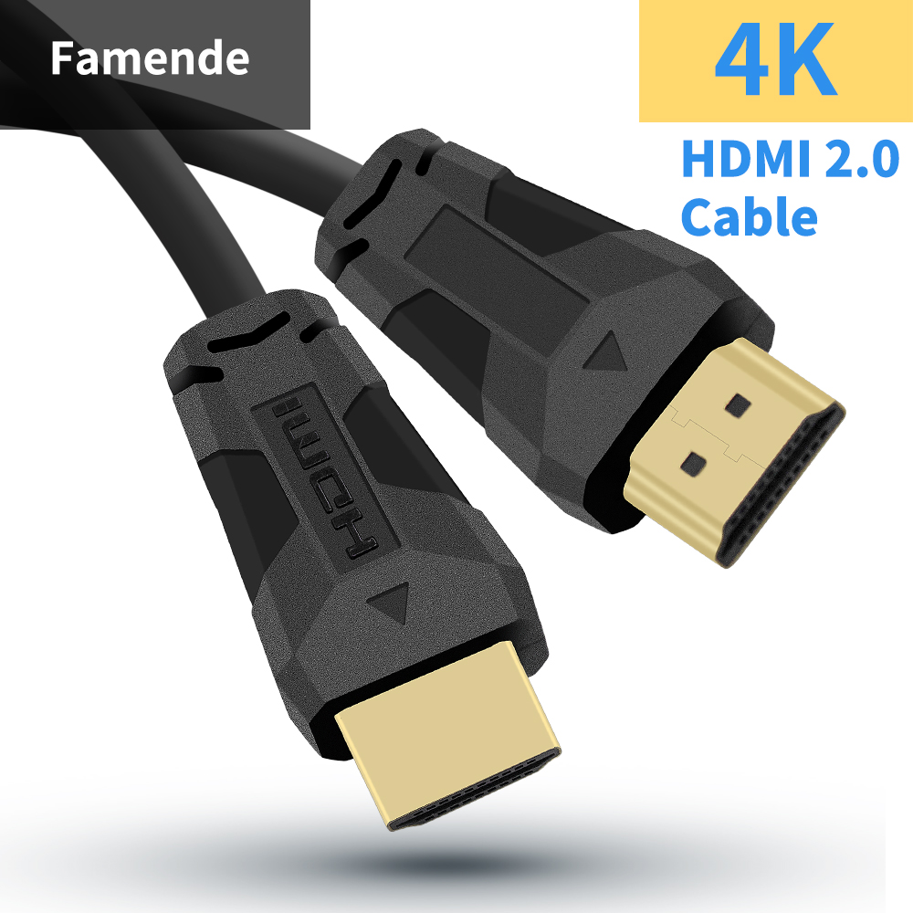 Ultra HD Dual <font><b>HDMI</b></font> 8K <font><b>Cable</b></font> <font><b>HDMI</b></font> <font><b>2.1</b></font> Male To Male Cord For Projector Ps4 Apple TV 0.5M 1M 1.5M 2M 3M 5M <font><b>HDMI</b></font> <font><b>Cable</b></font> 4K 60Hz UHD image