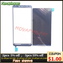Novaphopat Tested LCD Screen For BQ Mobile BQ 5518G Jeans LCD Display Screen Monitor touch screen digitizer Sensor + tracking