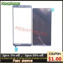 Novaphopat テスト bq 携帯 BQ 5518G ジーンズ液晶表示画面用液晶画面モニタータッチスクリーン + 追跡