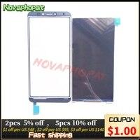 Novaphopat testado tela lcd para bq móvel BQ-5518G jeans display lcd monitor da tela de toque digitador sensor + rastreamento
