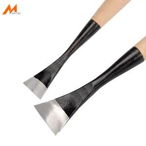 Нож для резьбы по дереву, сверкающий свет, середина, Глубокая Деревянная ручка, долото для деревообработки, стальные ручные инструменты