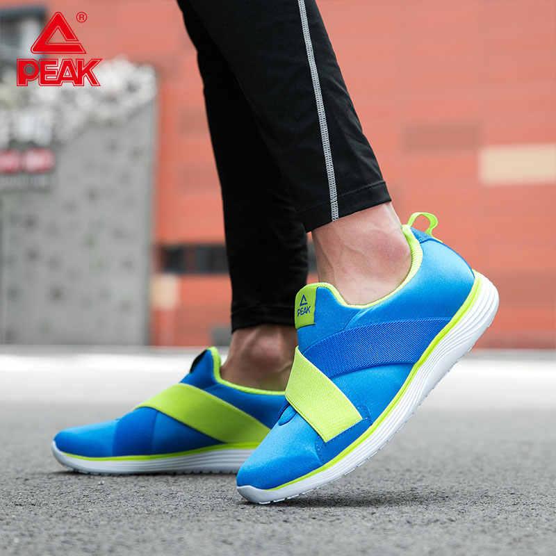Tepe 2019 erkek giyilebilir taban kayma spor ayakkabı hafif spor ayakkabı çöküşü üst yumuşak koşu ayakkabıları