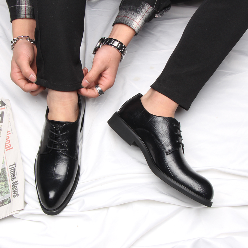 Image 5 - 37 44 mens formal shoes business comfortable Stylish Gentleman's formal shoes men #2033-in Formal Shoes from Shoes