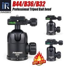 INNOREL B44/B36/B32 alüminyum alaşım panoramik kamera tripodu kafa maks. Yük 15/12/8kg hızlı bırakma plakası telefoto Lens için