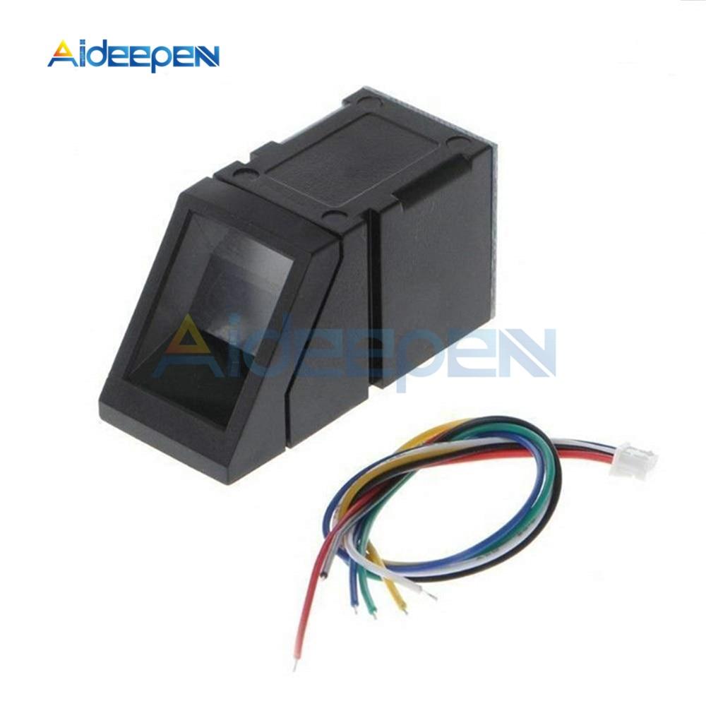 R307 Optical Fingerprint Sensor Reader Scanner Module Sensor Reader Door Lock Access Control Finger Touch Function For Arduino