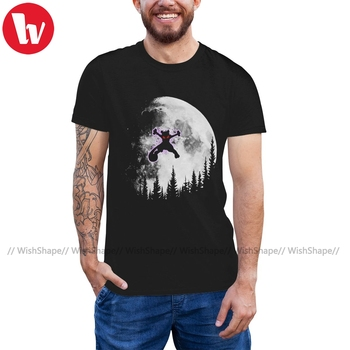 Pokedex T Shirt Psycho Moon T-Shirt Printed Awesome Tee Shirt Short Sleeves Casual Male 5x Cotton Tshirt image