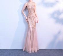 Женское вечернее платье с v образным вырезом большие размеры