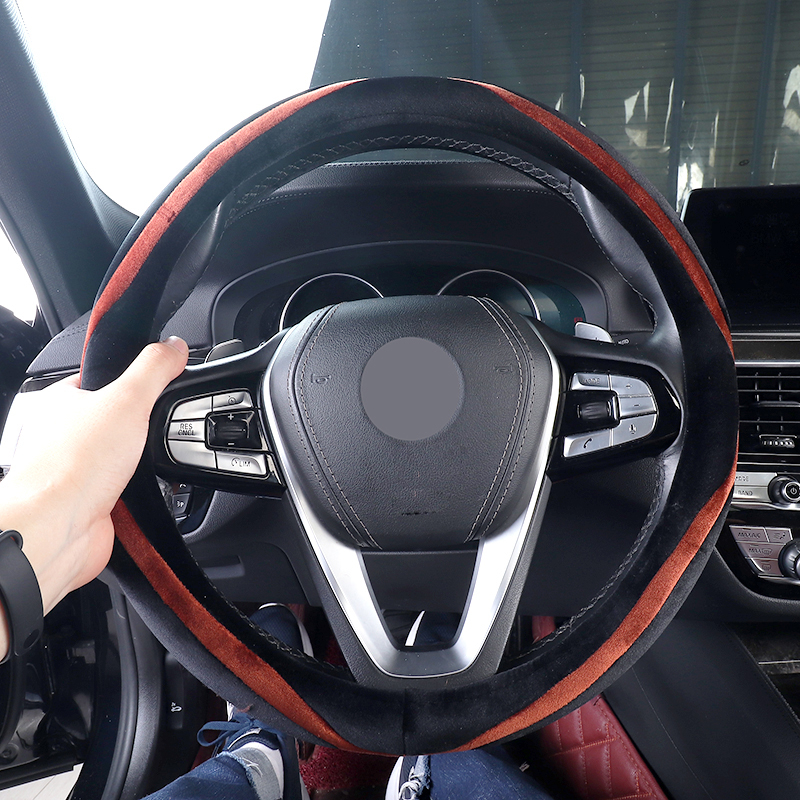 Car Steering Wheel Cover Auto for Bmw E39 E60 E61 F07 F10 F11 F18 G30 G31 E34 E46 E90 E91 E92 E93 F30 F31 F34 F35 E30 E36