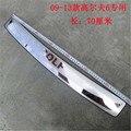 Протектор для заднего бампера из нержавеющей стали, Накладка для протектора на порог, автомобильные аксессуары для Golf 6 MK6 2009-2013