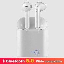 Fone de ouvido bluetooth i7s tws pro fone de ouvido sem fio bluetooth inalambrico para xiaomi, huawei e outros smartphones