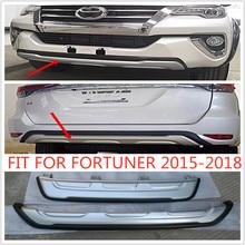 купить JIECHENG CAR ACCESSORIES Front bumper REAR BUMPERS Rear Bumper Protector Diffuser Spoiler FIT FOR FORTUNER 2015 -2018 по цене 4375.67 рублей