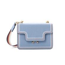 2019 New Fashion Genuine Leather Small Flap Bag Luxury Handbags Women Bags Designer High Quality Female Shoulder Crossbody Bags цена в Москве и Питере