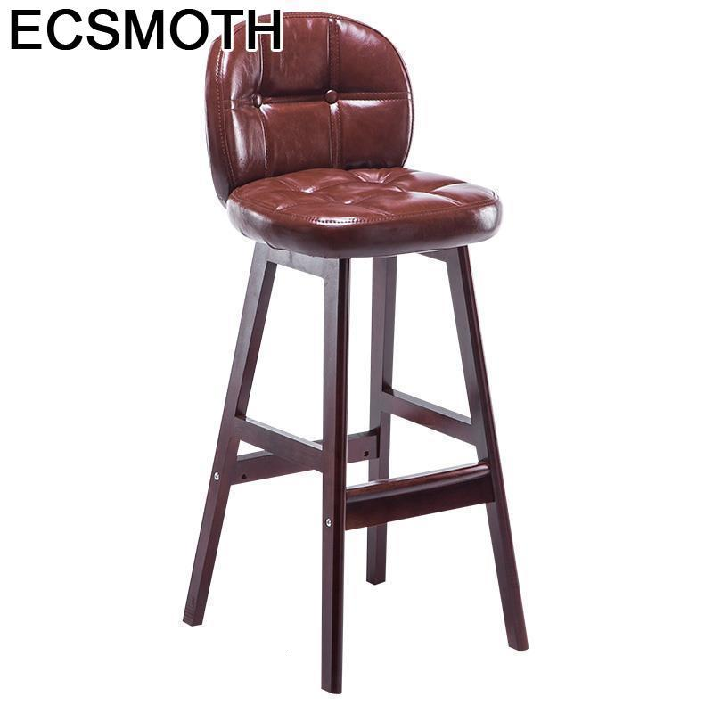 Table Stoelen Cadir Sandalyesi Taburete Industriel Stuhl Tabouret De Comptoir Leather Silla Cadeira Stool Modern Bar Chair