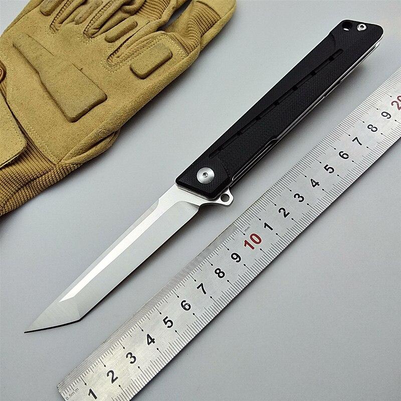 KESIWO EDC карманный складной нож D2 лезвие Кемпинг Охота Выживание Тактический Флиппер утилита G10 рукоятка кухонный инструмент для фруктов рыба...
