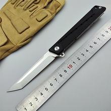 KESIWO EDC kieszonkowy nóż składany D2 ostrze polowe noże myśliwskie tactical flipper utility G10 uchwyt kuchenny owoc narzędzia połowowe tanie tanio Maszyny do obróbki drewna Folding Blade Knife KS024 folding knife folding knife pocket knife EDC knife camping knife tactical knife