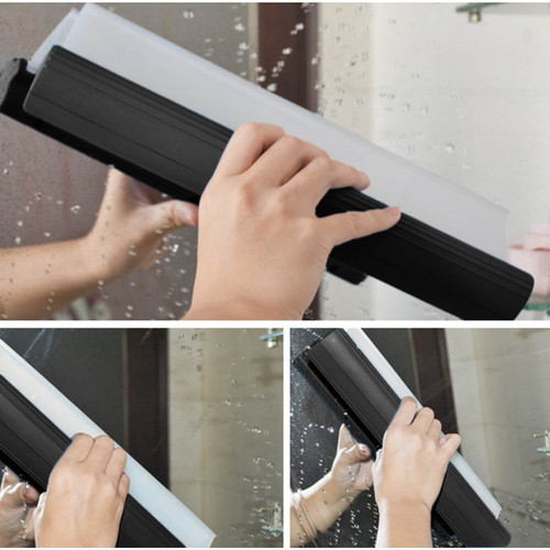 10 Inch Windshield Clean Fast/Quick Easy Shine Car Auto Drying Wiper Blade Squeegee Cleaning Cleaner Glass Window Brush T Shape