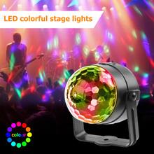 VKTECH LED RGB magiczna kula świetlna pilot efekt sceniczny oświetlenie dekoracyjne lampa dla DJ Disco Bar przyjęcie świąteczne światło sceniczne tanie tanio Dmx etap światła Other Stage Domowej rozrywki