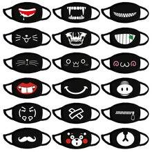 3 sztuk/partia Cartoon usta maska bawełna zmywalny anti kurz maska moda zęby Kawaii śliczne wielokrotnego użytku Unisex Kpop niedźwiedź pokrowiec